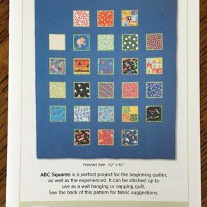 ABC Squares Pattern
