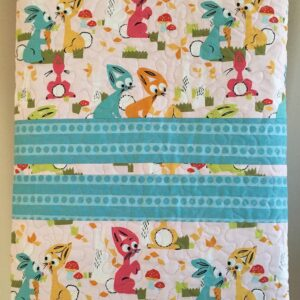 Bunny Hop Quilt Folded