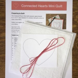 Connected Hearts Mini Quilt Kit
